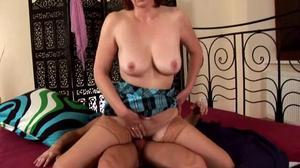 Deep inside a MILF's pussy