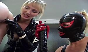 Sex education, masked woman style